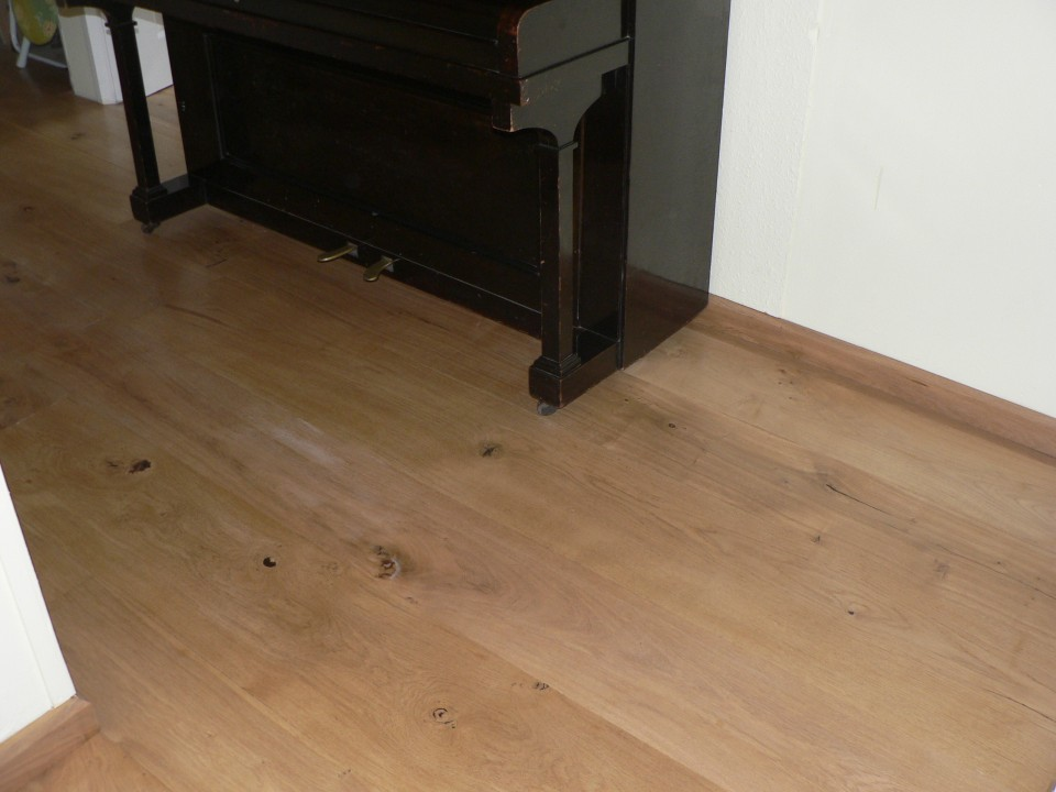 Oak Flooring, at home after 12 years