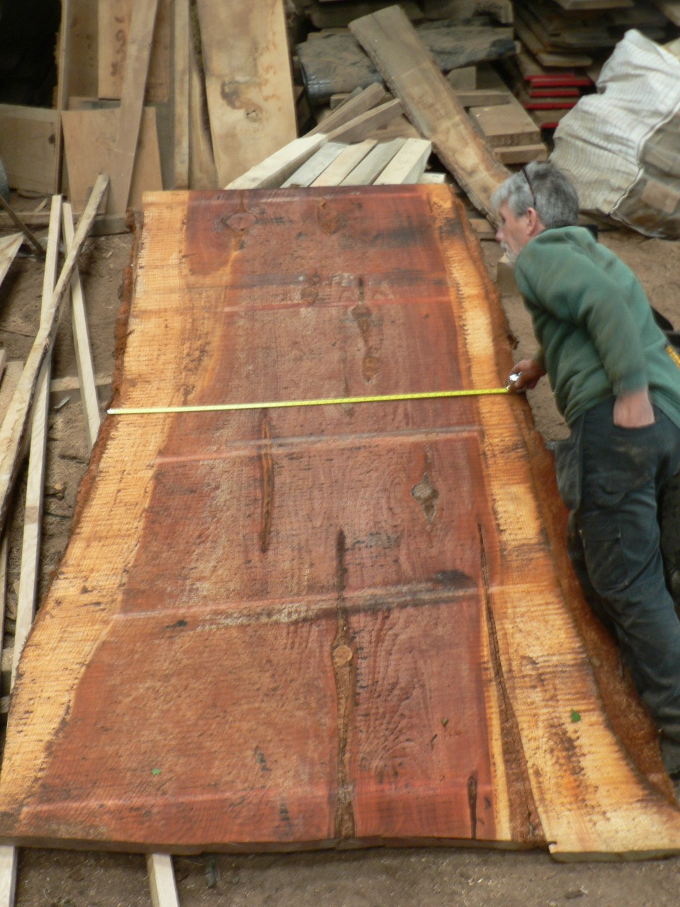 Large Sequoia slabs/boards  2""