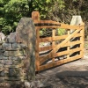 Bespoke Oak gate
