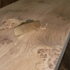 Pippy Oak Worktop (made up from several boards)