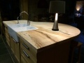 Hand crafted Sycamore Island Worktop