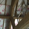 Oak Framed Roof , design & manufacture by Interesting Timbers