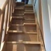Oak Staircase with alternating treads