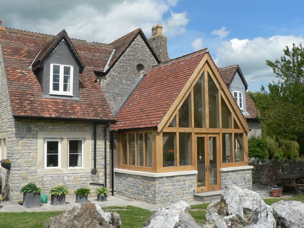 Oak framed buildings for Oak framed house designs